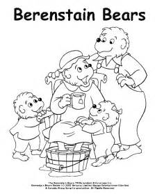 berenstain bears coloring pages coloring activity pages the berenstain bears pering