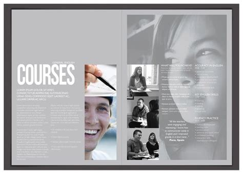 yearbook layout behance english behance and nice on pinterest
