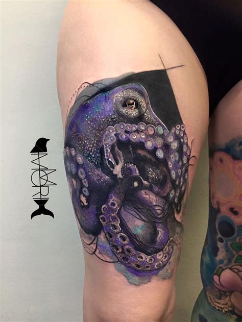 15 realistic octopus tattoos