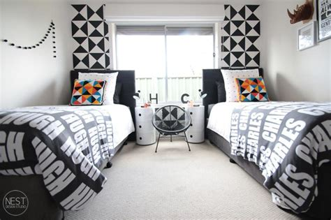 And Black Boys Bedroom by Black And White Boys Bedroom Desire To Inspire