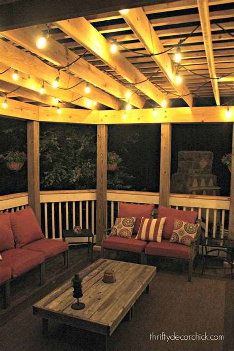 best outdoor lights for patio the best outdoor lights from thrifty decor