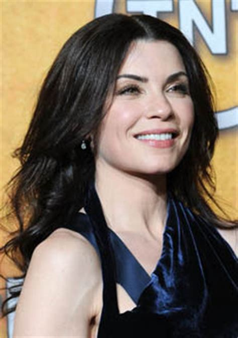 julianne marguilles chop hair julianna margulies long black curly hairstyle