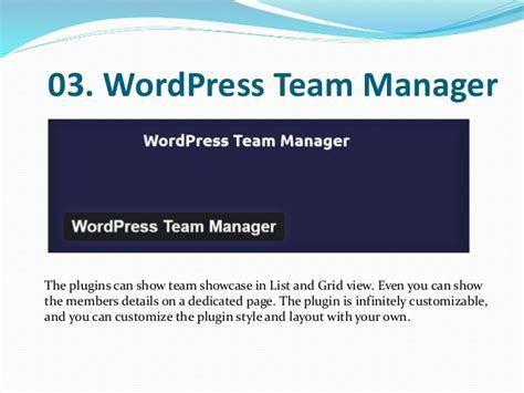 wordpress homepage layout manager best team member wordpress plugins
