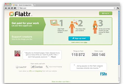 Flattr's sign up process: is this how you'd design it