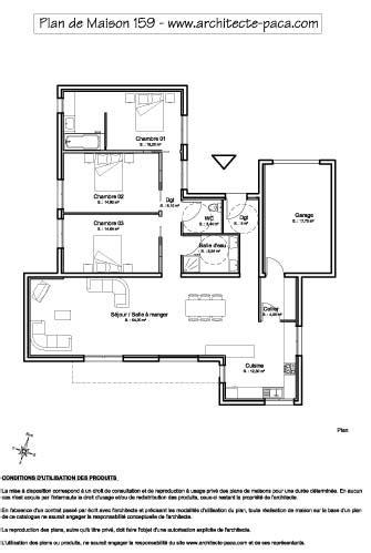 Echelle Plan Maison by T 233 L 233 Charger Plan Maison Plain Pied Contemporaine 1 100e