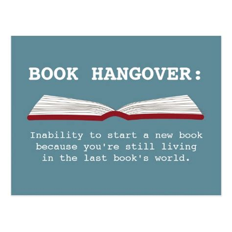 define picture book book hangover definition book lover postcard zazzle