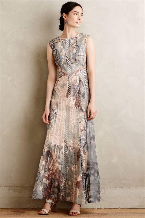 dress anthropologie anthropologie isidora maxi dress in blue lyst