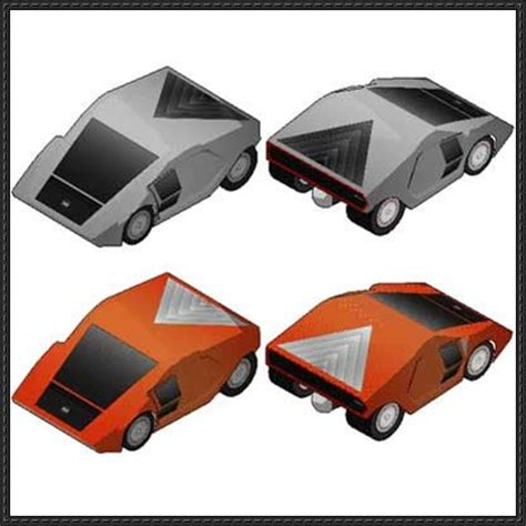 Paper Craft Car - papercraftsquare new paper craft lancia stratos