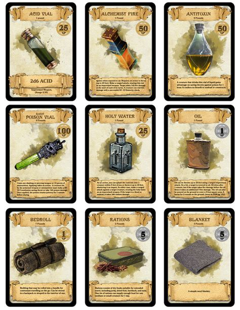 d d 5e irem card templates dm paul weber 300 downloadable printable d d