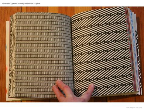 Book Of Pattern geometric pattern book