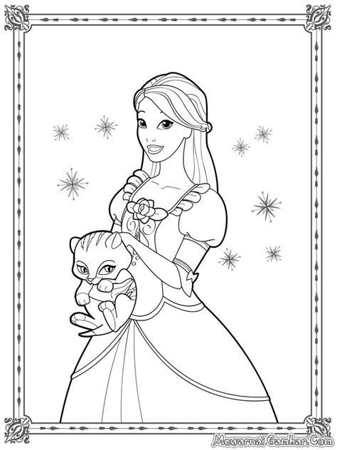 printable mewarnai free coloring pages of gambar princess