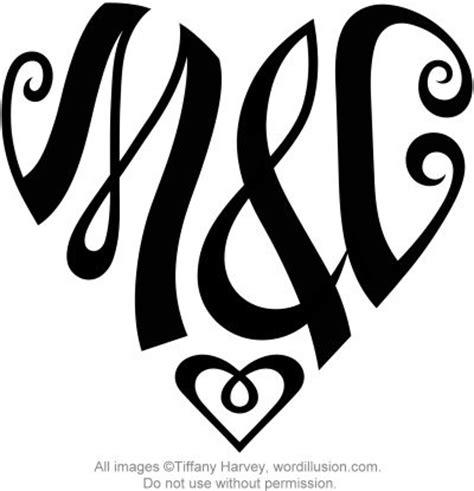M C quot m c quot design a custom design of the initials quot m