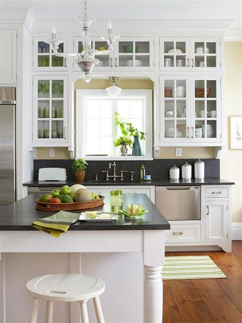 158 best glass cabinets images on kitchens