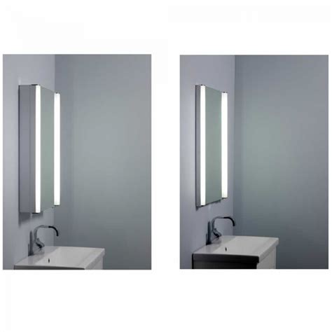 recessible bathroom cabinet roper rhodes ascension illusion illuminated recessible