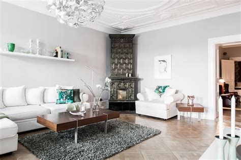 Modern Antique Living Room by Antique And Modern Styles Combined In The Scandinavian Way