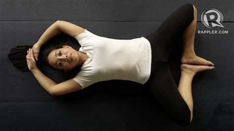 reclining bound angle gear up for the week 5 easy yoga moves to help you relax