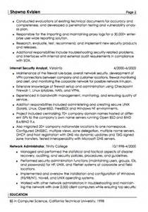good resume format examples security specialist resume sample resumes design