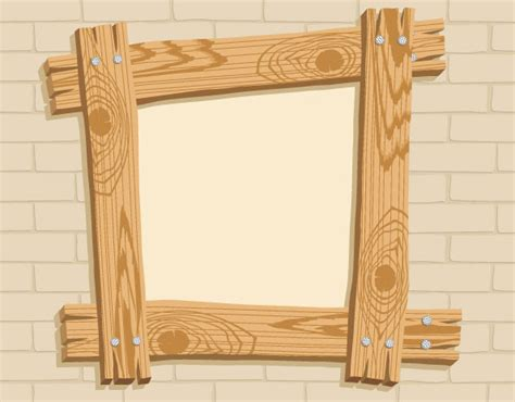 picture frame designs woodworking wooden frame eps free vector 178 882 free vector