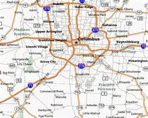 map of columbus map of columbus ohio suburbs pictures to pin on