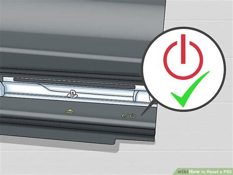 how to reset ps3 video output 3 ways to reset a ps3 wikihow
