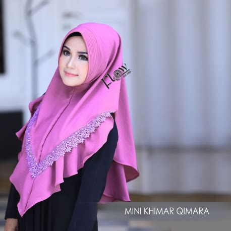 Mini Khimar Mini Khimar Qimara By Flow Pusat Busana Gaun Pesta
