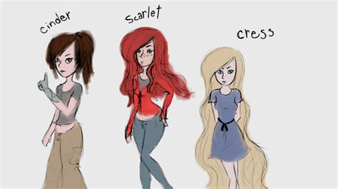 Cabutan Komik Scarlet Fan 7 8 10 1 lunar chronicles cinder scarlet and cress by
