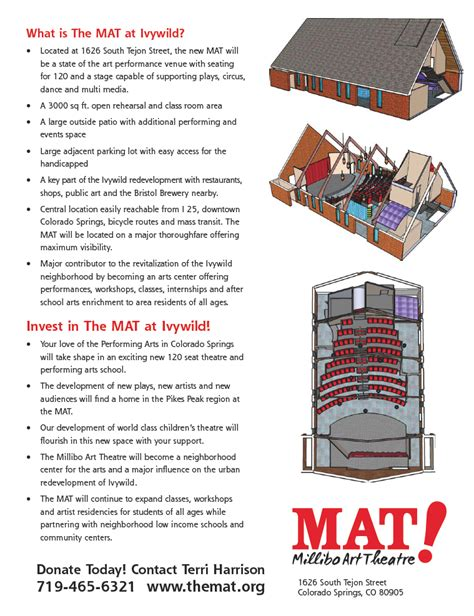 The Mat Colorado Springs by Mat Ivywild Millibo Theatre