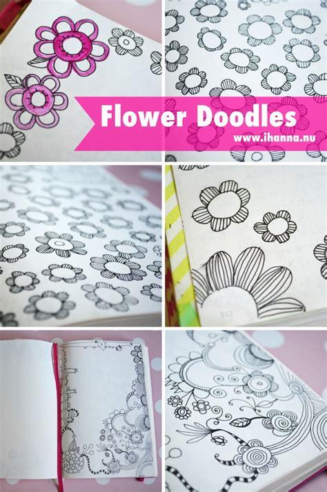 doodle flower border flower doodles border www imgkid the image kid has it