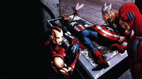 captain america thor ironman wallpaper comics carta da parati marvel thor capitan america