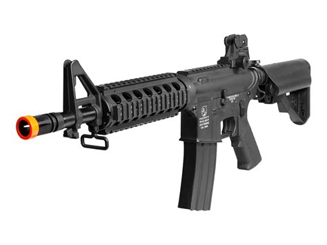 Airsoft Gun Laras Panjang Metal Colt M4 Cqb Metal Aeg Black Airsoft Guns