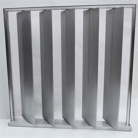 Louvered Metal Room Divider In The Manner Of Jean Prouv 233 Metal Room Divider