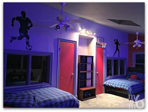 Boys Bedroom Lights Boys Bedroom Makeover Momof6