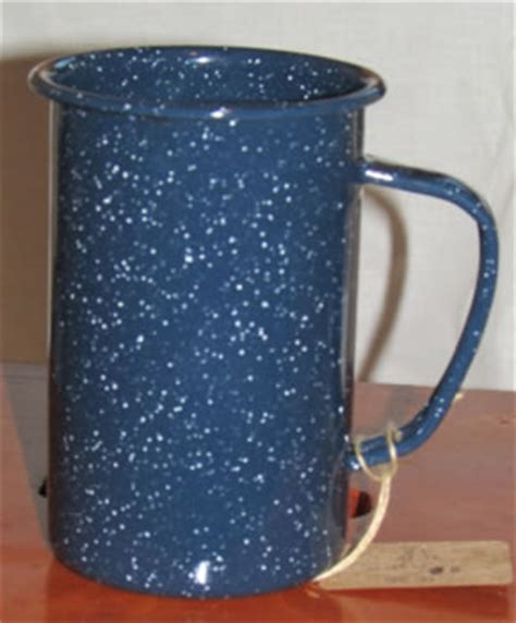 katies mercantile blue enamelware tea kettle mixing