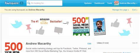 foursquare templates foursquare page banner template free foursquare