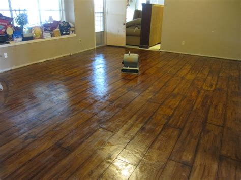 Wood Floor Paint Ideas Creative Ideas Using Concrete Floor Paint Flooring Stuffs Ideas