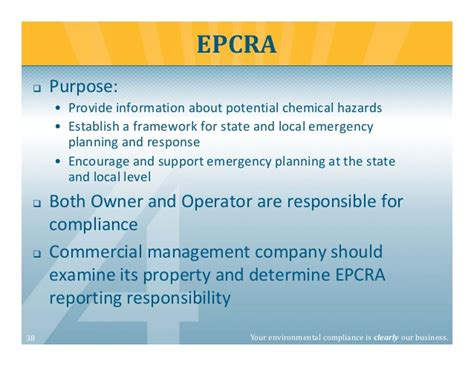 Section 302 Epcra by Top 5 Environmental Compliance Issues For Engineers And
