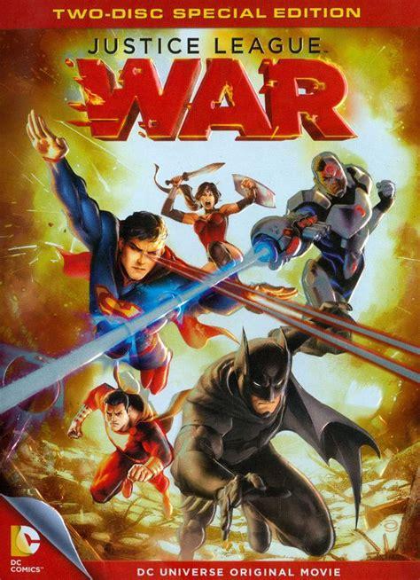 film justice league war justice league war special edition 2 discs dvd