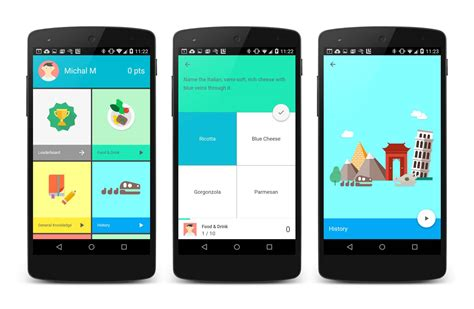 mobile application android presenta este curso gratuito sobre material design