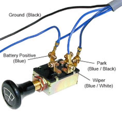 universal wiper motor switch wiring diagram 43 wiring