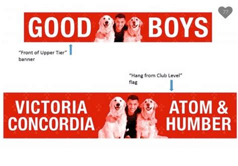 alexis sanchez dogs banner arsenal fans reveal banner of alexis sanchez s dogs prior