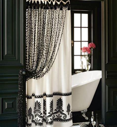 shower curtain in or out of tub bathroom tub shower curtain andrea de michaelis