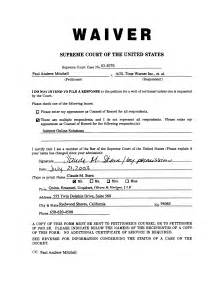 Waiver Templates by Supreme Library Court Cases Mitchell V Aol Time