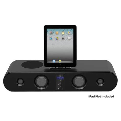 Isoundspa Speaker System For Ipods Is Also A Soothing Sound Station by 300w Five Speaker Sound Bar System For Ipod