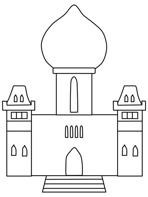 Palace Coloring Pages free coloring pages of buckingham palace
