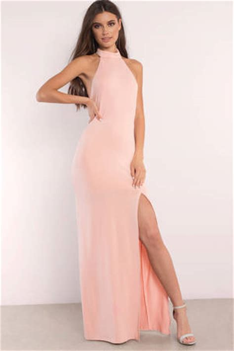 pink dresses hot light baby pink prom cocktail