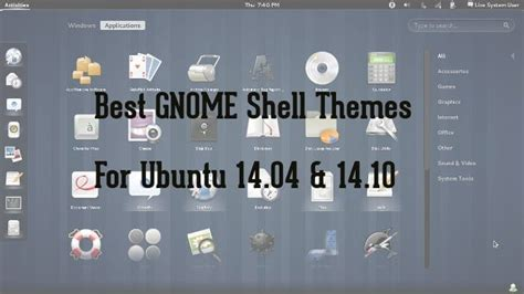 gnome themes ubuntu 14 10 best gnome shell themes for ubuntu 14 04 linux unix