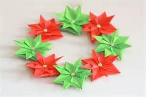 Paper christmas wreath mini tutorial cook clean craft