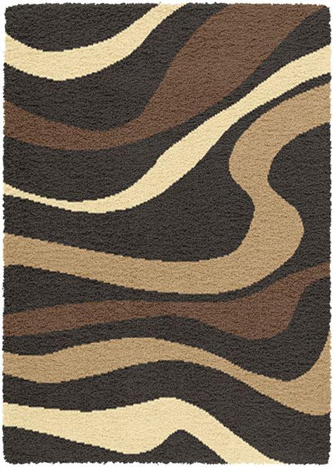 creative rugs creative home area rugs creative design shag rug 5668 436 black shag flokati rugs area
