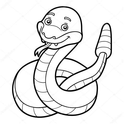 clipart da colorare coloring book rattlesnake stock vector 169 ksenya savva