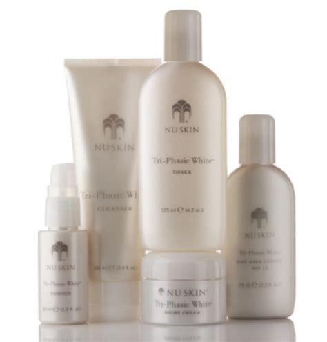 Bedak Nu Skin tri phasic white nu skin skin care untuk kulit yang cerah cantik dan sehat
